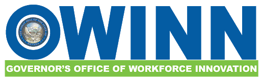 Logo: OWINN, Governor's Office of Workforce Innovation