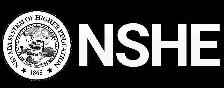 NSHE logo and Nevada Seal